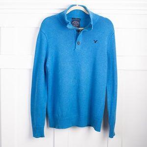 American Eagle men's Blue Sweater size L